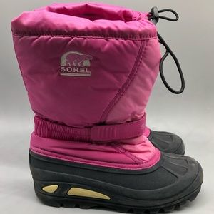 Sorel girls / kids flurry winter snow boots